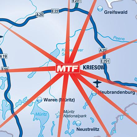 Geschäftsgebiet MFT Kriesow GmbH